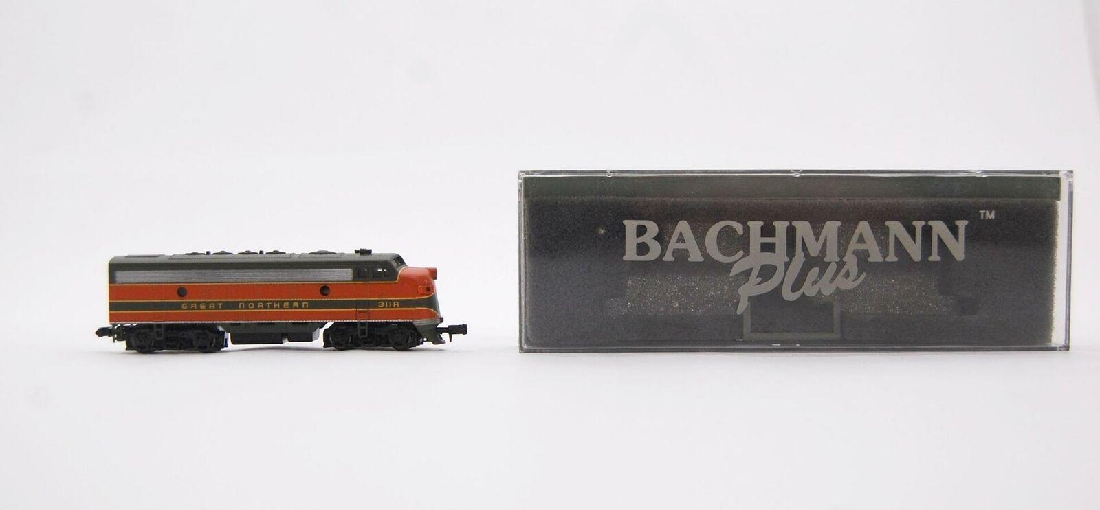 Bachmann Plus n Maßstab Great Northern Diesel Lokomotive Zug Orange 311A