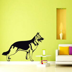 Image Is Loading Grooming Wall Decals German Shepherd Decal Dog Vinyl