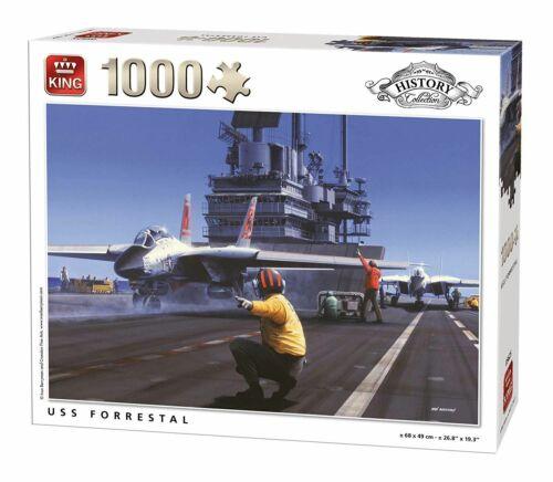 FORRESTAL Army Jigsaw Puzzle 1000 pièces 68 x 49 cm