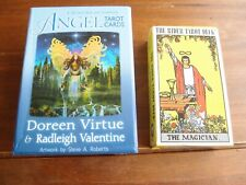 Angel Tarot Cards by Doreen Virtue and Radleigh Valentine (2012, UK-Paperback)