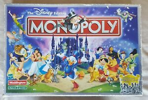 The-Disney-Edition-Monopoly-Board-Game-2001-COMPLETE-Waddingtons-RARE