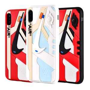 super popular 86f56 2c6a2 Details about Hypebeast 3D Texture Off White AJ1 Chicago iPhone Cases Cover  USA Seller