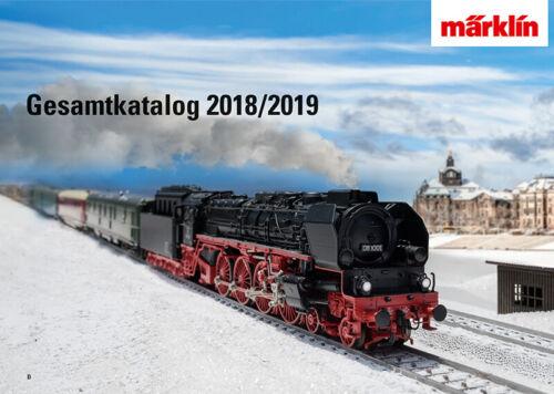 Märklin 15761 MÄRKLIN catalogue 2018//2019 FR NEUF