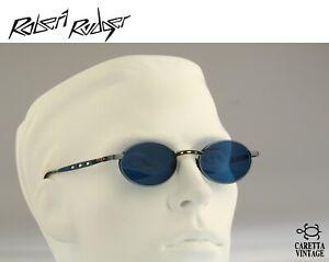 Robert-Rudger-0028-190-E4-Vintage-90s-blue-lenses-antique-silver-oval-sunglasses