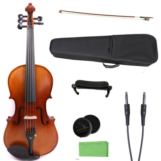 yinfente 16 inch electric viola 5 string maple spruce sweet sound