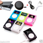 Mini USB Clip LCD Screen MP3 Player Portable Music Support 32GB Micro SD/TF Card