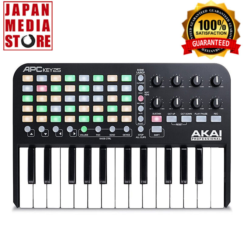 AKAI APC Key 25 Ableton Live Controller with Keyboard 100% Genuine Product