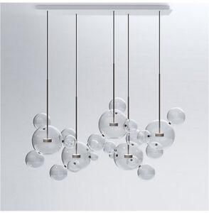 Glass mickey bubble pendant lamp chandelier ceiling light fixture la foto se est cargando glass mickey bubble pendant lamp chandelier ceiling light aloadofball Images