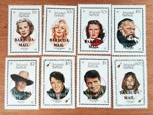 Antigua et Barbuda 1987 Elvis Lennon Monroe FULL SET OVPT MAIL NEUF MNH Y236