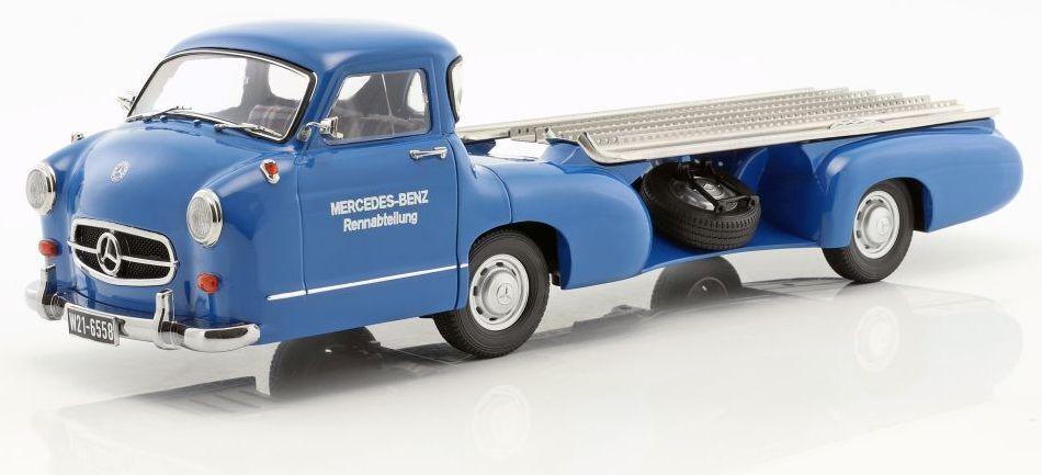 ISCALE - MERCEDES-BENZ RACING voiture  TRANSPORTER THE bleu WONDER 1 18 SCALE  commandez maintenant profitez de gros rabais