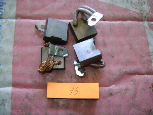 SPAZZOLE  MOTORINO AVVIAMENTO FIAT 132 2.5 DIESEL