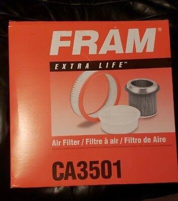 Fram CA3501 Air Filter fits FA637 FA746 FA1015 FA1057 46255 6255 LAF388 AF2242