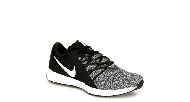 official photos 443d8 1d3b8 Nike Varsity Compete Trainer 4E Men's Training Shoes Black White AR5533 001