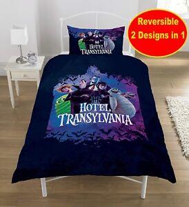 Copripiumino Ragazzi.Ufficiale Hotel Transilvania 3 Movie Singolo Trapunta Set