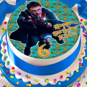 HAPPY BIRTHDAY 7.5 INCH BATMAN PERSONALISED EDIBLE CAKE TOPPER