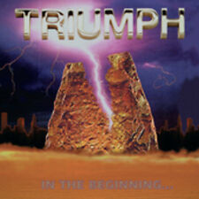 In the Beginning... [Remaster] by Triumph (CD, Jul-2005, TRC Distribution)