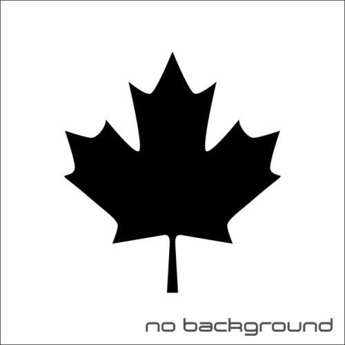 Maple Leaf Sticker Vinyl Decal Canada Tree Fall Car Window Bumper Laptop Decor
