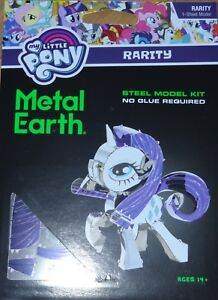 Details about Rarity My Little Pony Metal Earth 3D Laser Cut Metal Model  MMS335 Fascinations