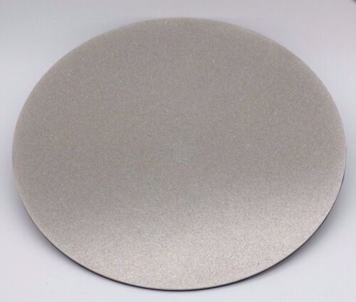 10inch 360Grit Diamond Glass Lapidary Grinder Lap Flat PSA Backing None Hole