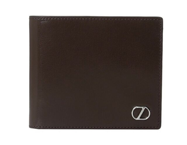 """Z Zegna™ Boarded Calfskin Billfold """"100% Authentic"""" Free Shipping"""