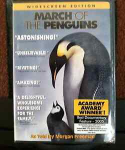 March-of-the-Penguins-DVD-2005-Widescreen-Brand-New-and-Factory-Sealed