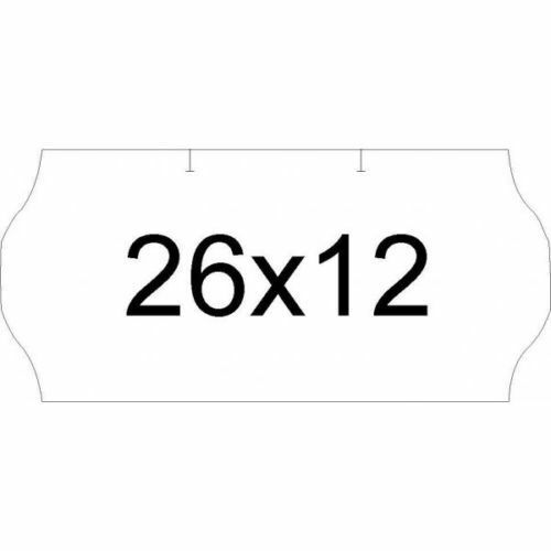 marcadora precios 15.000 etiquetas 26x12 amarillo fluor para etiquetadora