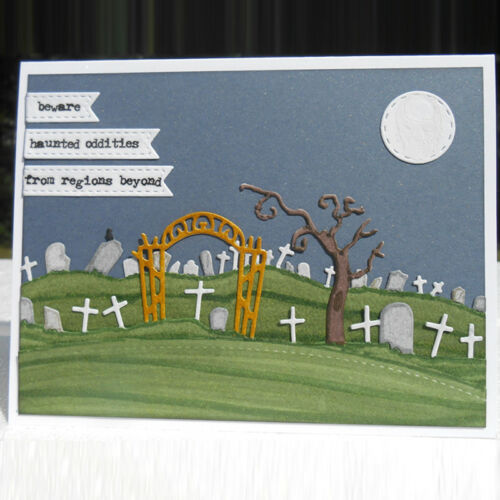 Metal Cutting Dies Halloween Stencil Embossing DIY Scrapbooking Carft Paper Card