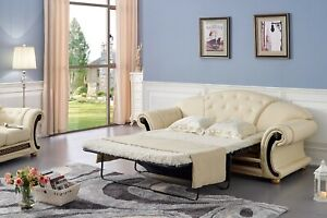 Pull Out Sleeper Sofa Couch Luxury