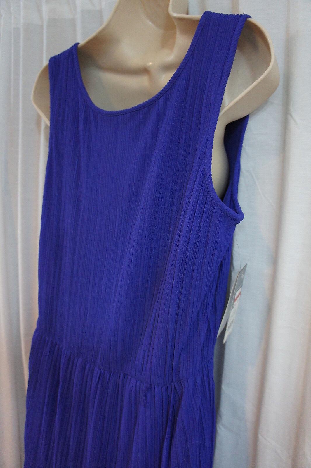 women women women Ricco New York Dress Sz 12 African purple Sleeveless Business Dress 2d97c4
