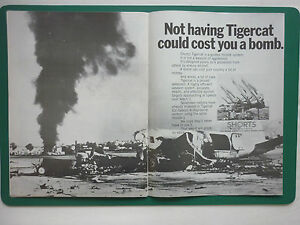 1/1970 Pub Shorts Missiles Division Shorts Tigercat Guided Missile System Ad Tujtatwc-07225205-171305442