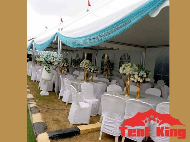 Funeral Tents/Marquee Tents/Pegs and Poles/Chairs/Tables/Linen/Food Warmers/Cutlery/Crockery
