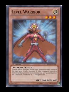 Level Warrior Mint Near Mint Condition YUGIOH Card
