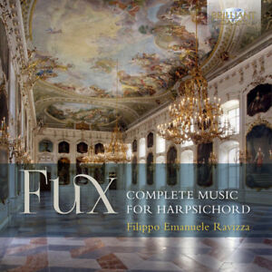 Fux-Complete-Music-For-Harpsichord-New-CD-UK-Import