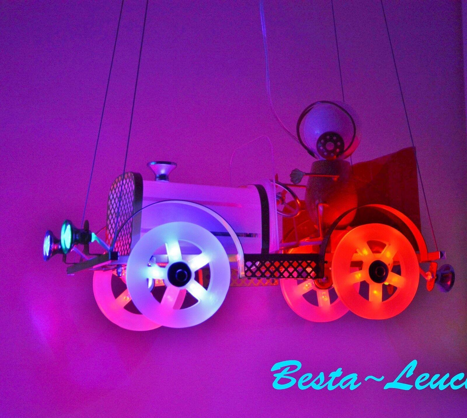 DEL Lampe pour enfants chambre enfant Plafonnier Lampe pendellleuchte Kids voiture chauffeur