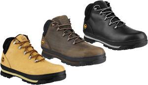 Dettagli su Timberland Pro Splitrock Escursionista Da Uomo Sicurezza Stivali Punta in Acciaio s3 Lavoro Calzature mostra il titolo originale