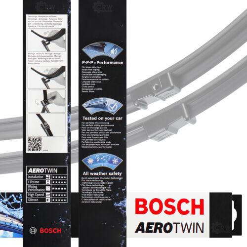 Limpiaparabrisas escobillas 3397118927 530mm//475mm AEROTWIN set Bosch a927s