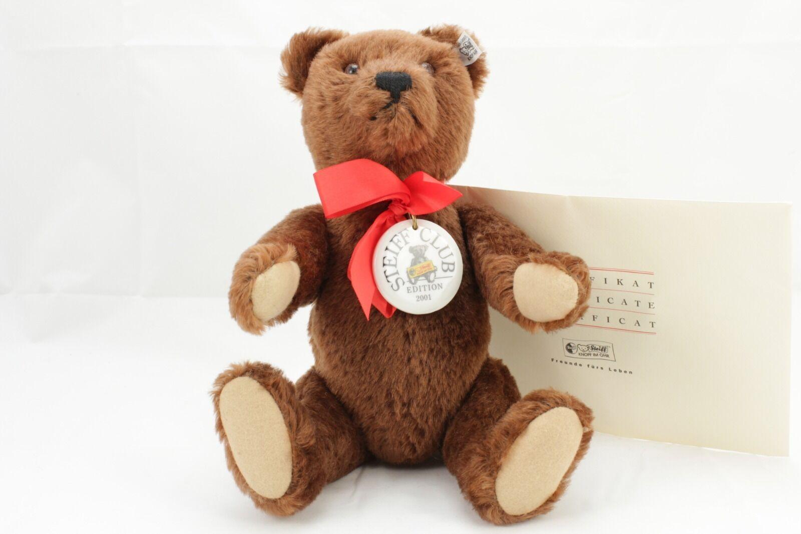 Steiff Teddybär Teddy 1950 Club Edition 2001/2002 lim. 35 cm 420245  16