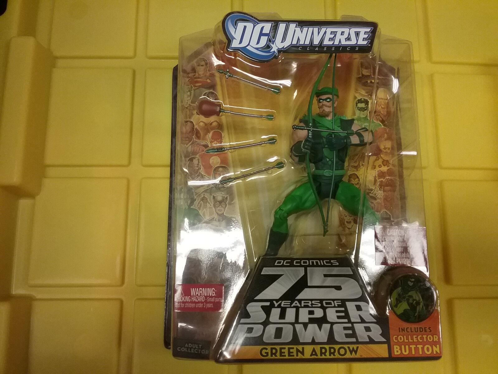 DC Universe 75th Grün Arrow  Figure NEW Free Ship US