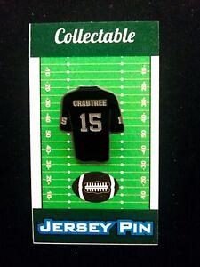 Oakland Raiders Michael Crabtree jersey lapel pin-Collectible | eBay