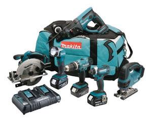 Makita DLX6068PT 18V Cordless Kit