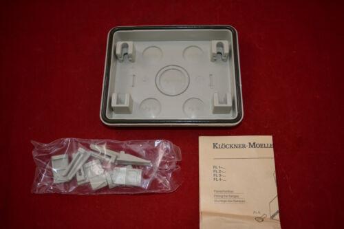 Klöckner Moeller Isolierstoff-Flansch FL 2-3 1x PG21/29 4x PG16 Flanschplatte