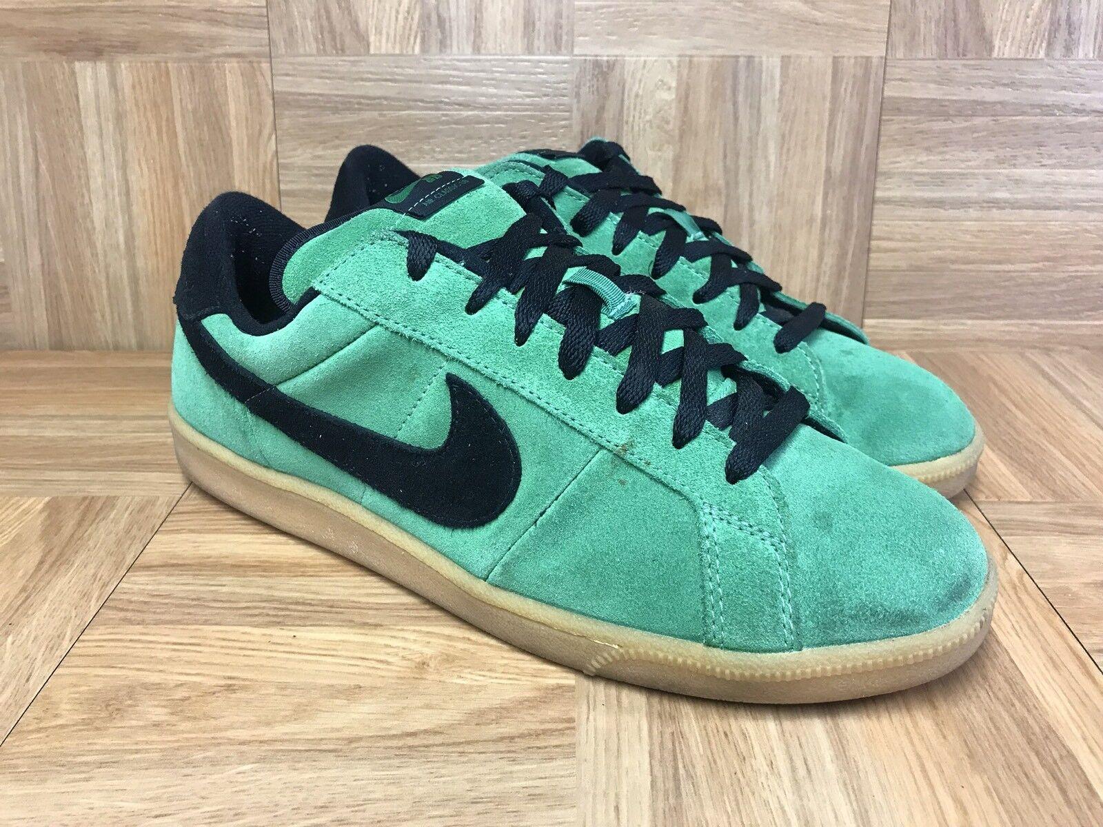 RARE Nike Air Classic SB Suede Classic Green Black Gum Soles Sz 11 310704-301
