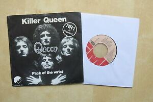 QUEEN-Killer-Queen-Flick-Of-The-Wrist-Original-Dutch-7-034-in-picture-sleeve
