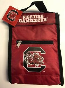 NCAA-South-Carolina-Gamecocks-Insulated-Lunch-Box-Sack-Cooler-w-Carry-Handle