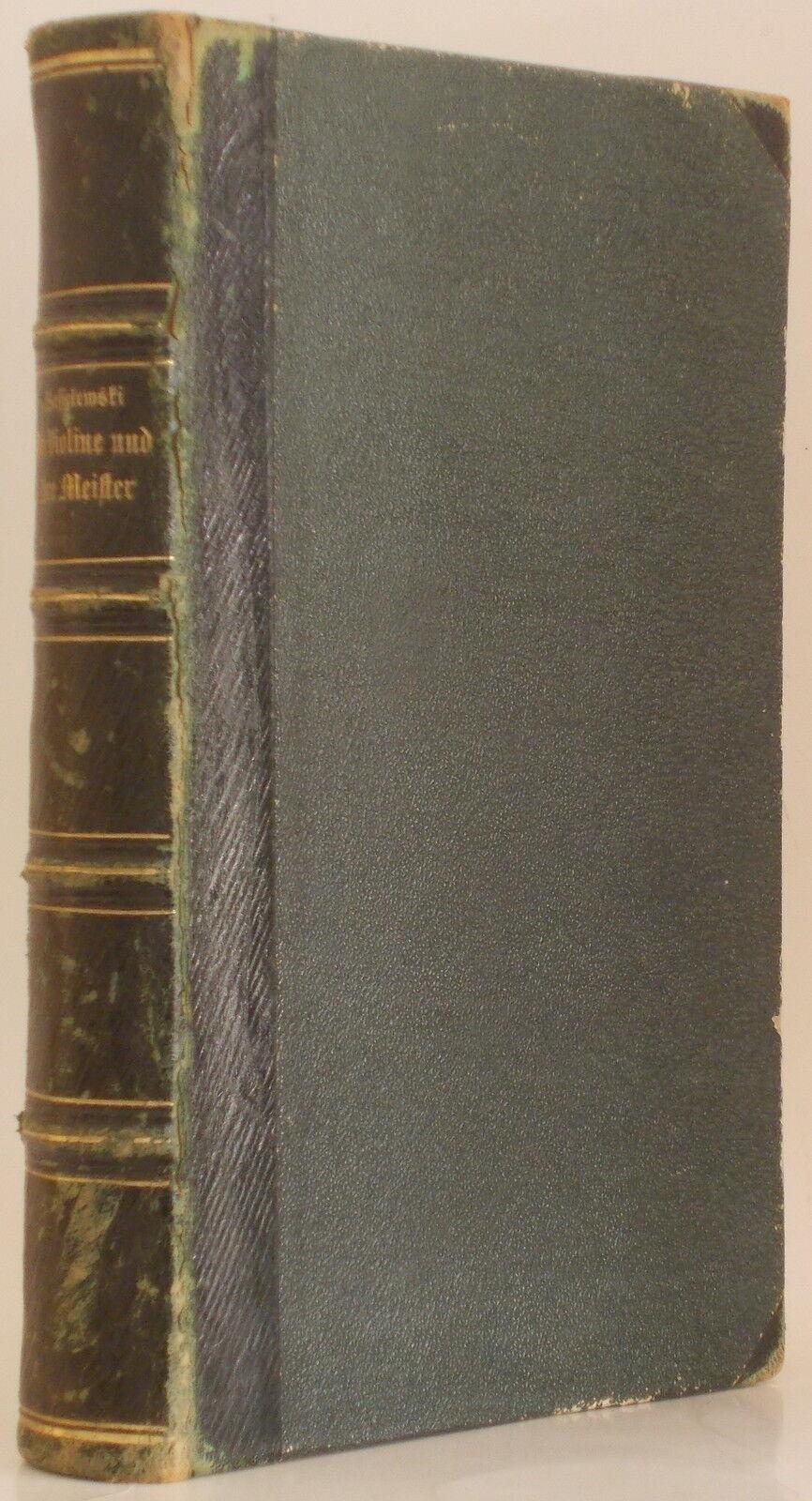 1869 Die Violine Und Ihre Meister ~ Joseph Wilhelm Von Wasielewski Violin Antiques