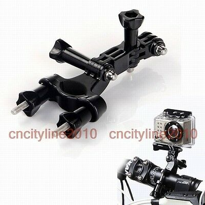 Bike Motorcycle Handlebar Seatpost Pole Clamp Mount Holder for Gopro Hero /3/2/1