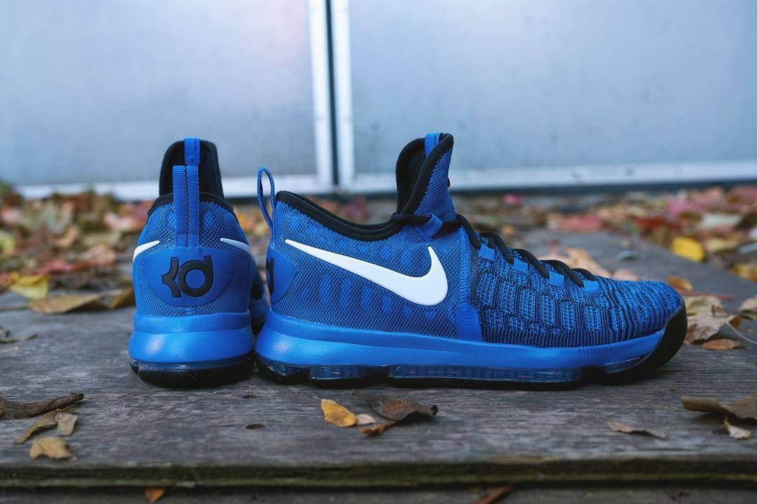 Nike Air KD IX 9 Elite Sneakers New Royal bluee   Black 843392-410 sz 10 with box