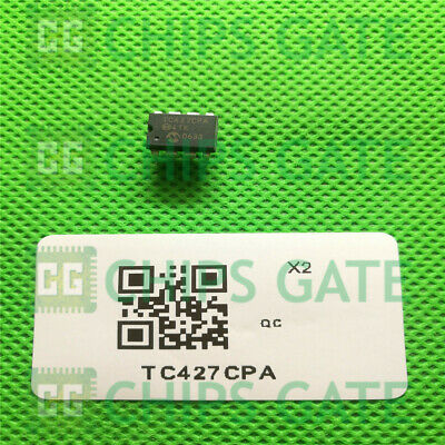 50PCS TC428CPA Encapsulation:1.5A DUAL HIGH-SPEED POWER MOSFET DRIVERS