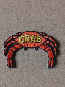 Crab-Records-Embroidered-Patch-Reggae-Pama-Derrick-Morgan-Trojan-Ska-Blue-Beat