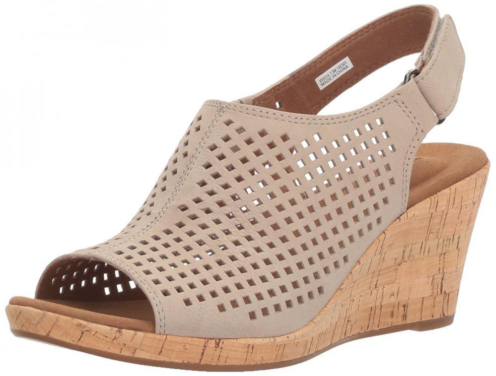 Rockport Femme Briah Perf Sling Compensé Sandale